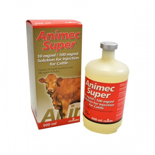 Chanelle Animec Super Solution for Injection for Cattle