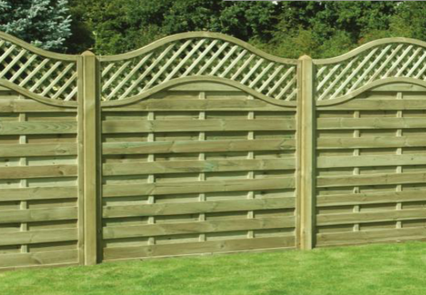 Kdm Fence Panels Omega Lattice Top Sadler Country Life