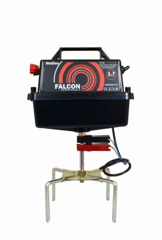 Hotline Electric Fencing Falcon HLB500 Energiser, 1.7J, 12V, max 18km distance