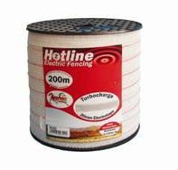 Hotline Electro white Turbo Tape 20mm